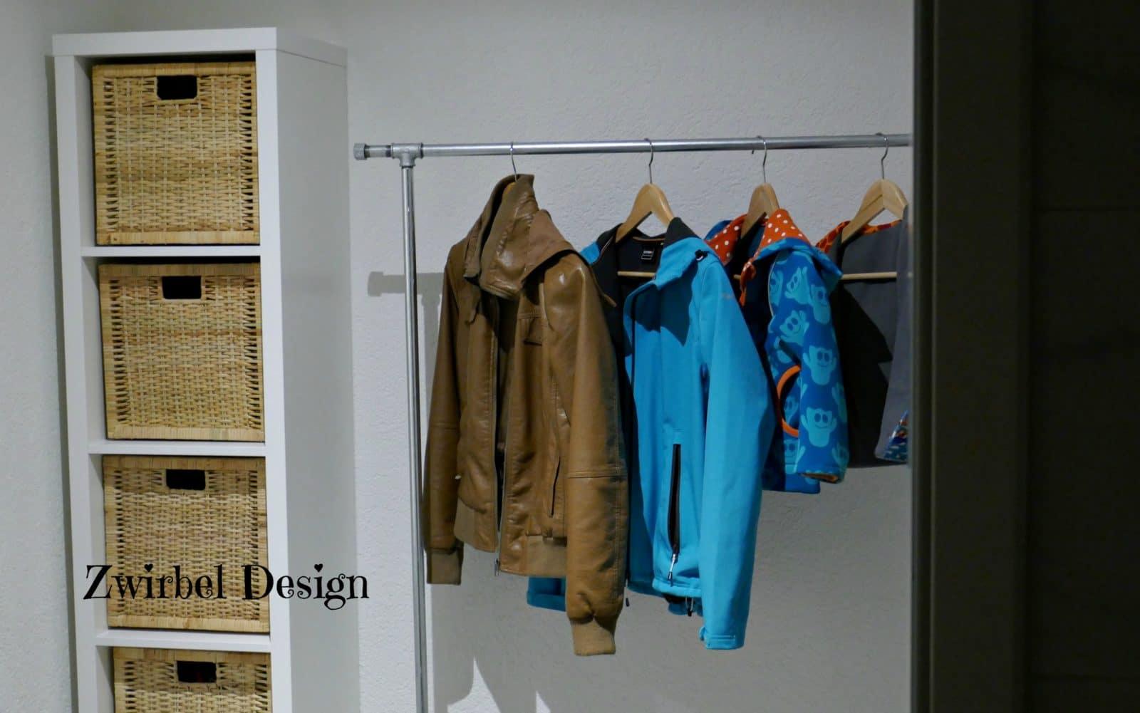Garderobe Aus Wasserrohren Bauen Handmade Kultur