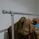 Garderobe aus Wasserrohren bauen
