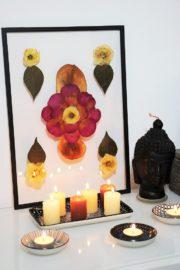 Getrocknetes Blumenbild
