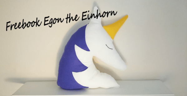 Freebook Egon The Einhorn Handmade Kultur