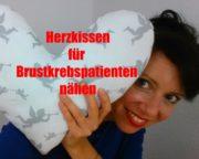 Herzkissen für Brustkrebspatienten nähen