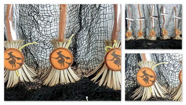 halloween hexenbesen handmade kultur. Black Bedroom Furniture Sets. Home Design Ideas