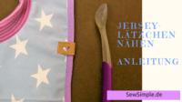 Freebie: Jersey-Lätzchen nähen | Anleitung