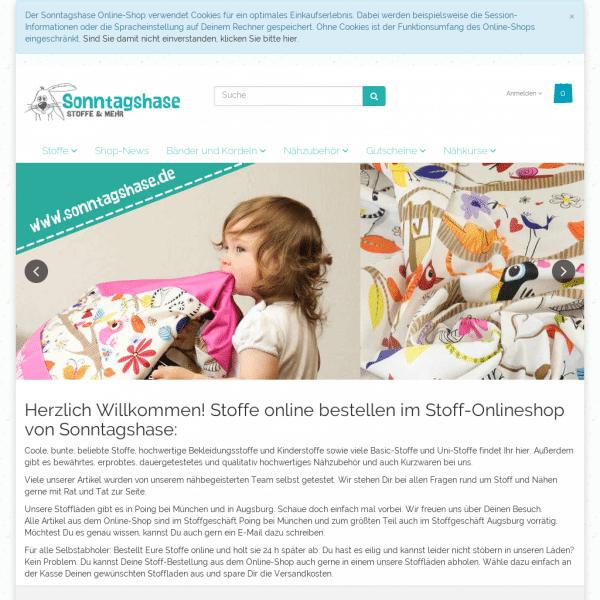 kreativblog stoff online shop sonntagshase stoffe kinderstoffe bekleidungsstoffe online. Black Bedroom Furniture Sets. Home Design Ideas