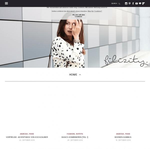 Filizity. - Lifestyle Blog - fashion · food · diy