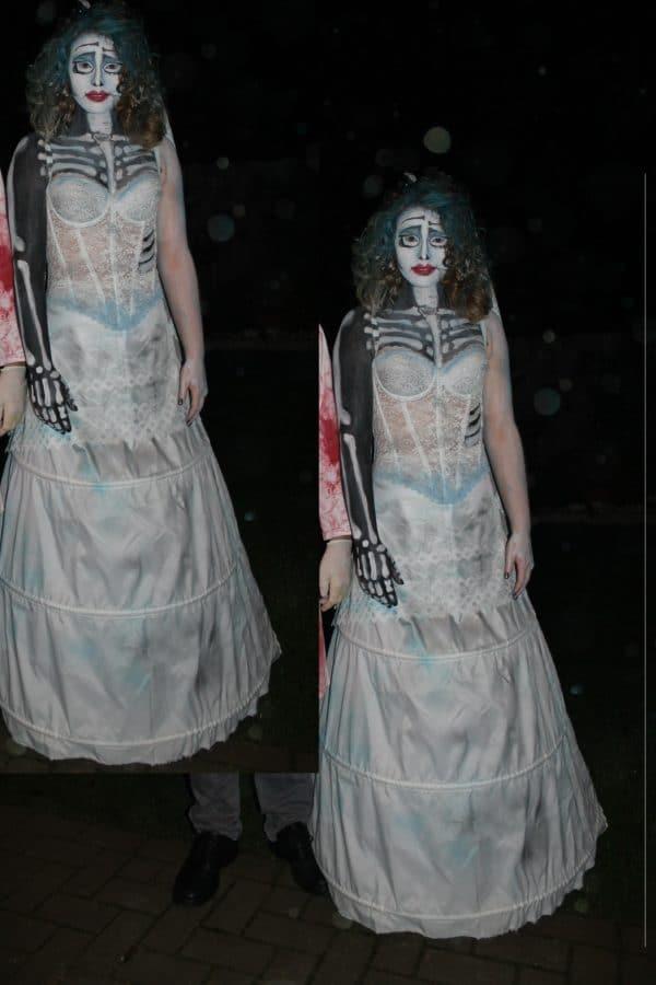 Corpse-bride - ein Komplett-Halloweenoutfit