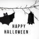 DIY // Fledermauskarte / Halloween Bat Treat Card