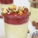 Vegetarische Panna Cotta mit Kardamon, Zimt, Vanille, Orangen-Zwetschgenmus und karamellisierten Haselnüssen | Mohntage