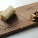 Käsebrett gestalten mit Holzbrenner