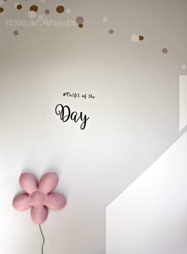 #ootd – effektive Idee für`s Kinderzimmer (schont auch Mama's nerven)