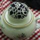 Nadelkissen aus einer alten Zuckerdose