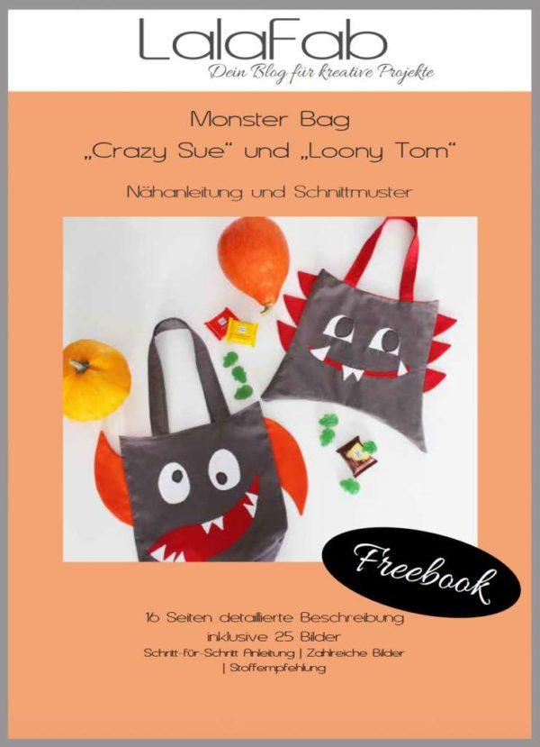 Monsterbag Crazy Sue und Loony Tom
