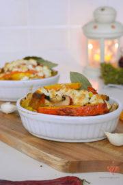 Pilz-Stroganov mit Hokaido Kürbis aus dem Ofen: vegan oder vegetarisch | Mohntage