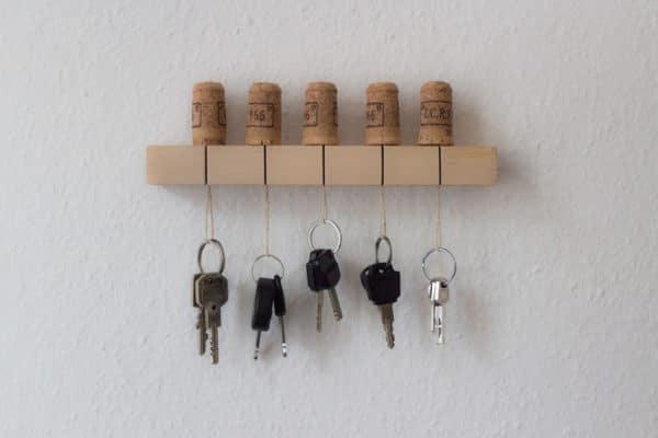 DIY-Upcycling Schlüsselbrett