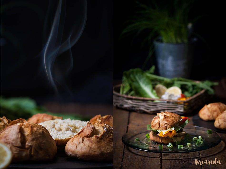schnitzelburger im rustikalen landbrötchen  handmade kultur