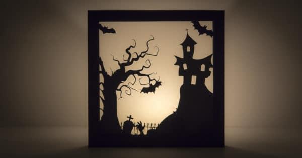 Schaurig schönes Halloween-Bild