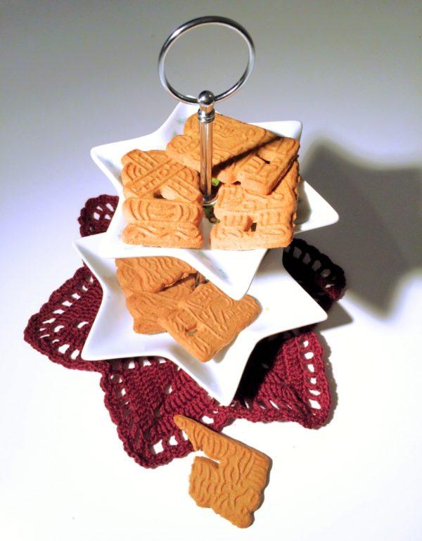 Dekoratives Häkeldeckchen In Sternform Handmade Kultur