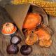 Herbst-Knabberei mit Kräuter-Süßkartoffel-Chips