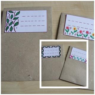 Papiertüten + Etiketten für dein Bio-Saatgut
