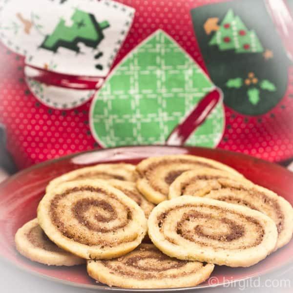 Dänische Zimtschnecken-Plätzchen eröffnen die Weihnachtsbäckerei bei [Birgit D]