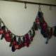Adventskalender aus gestrickten Socken