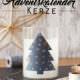 Die Last-Minute Adventskalender Kerze mit Wohlfühleffekt