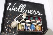 Wellness Adventskranz - der etwas andere Kranz