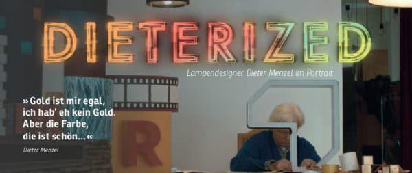 Beige war gestern - der Lampendesigner Dieter Menzel