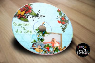 Digital Scrapbooking Summer in the City DVD
