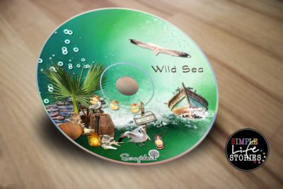 Digital Scrapbooking Wild Sea DVD