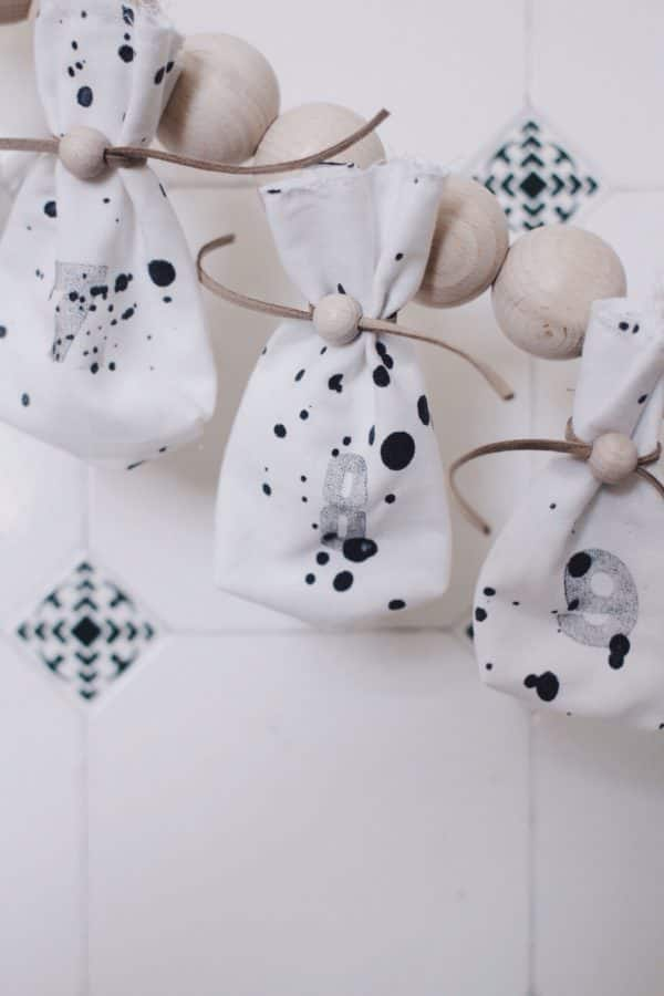 DIY Adventskalender im Scandi-Trend