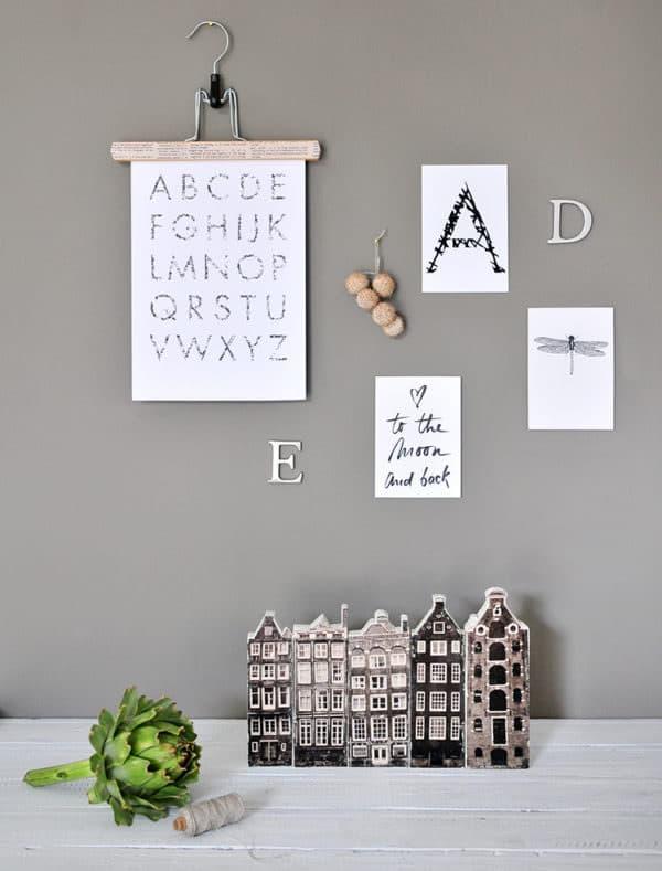 DIY Amsterdam Holzhäuser