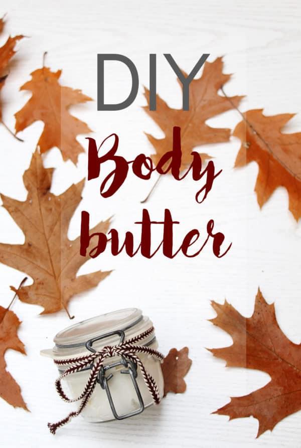DIY Bodybutter aus nur 4 Zutaten