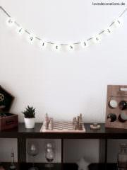 DIY Lichterkette mit Handlettering