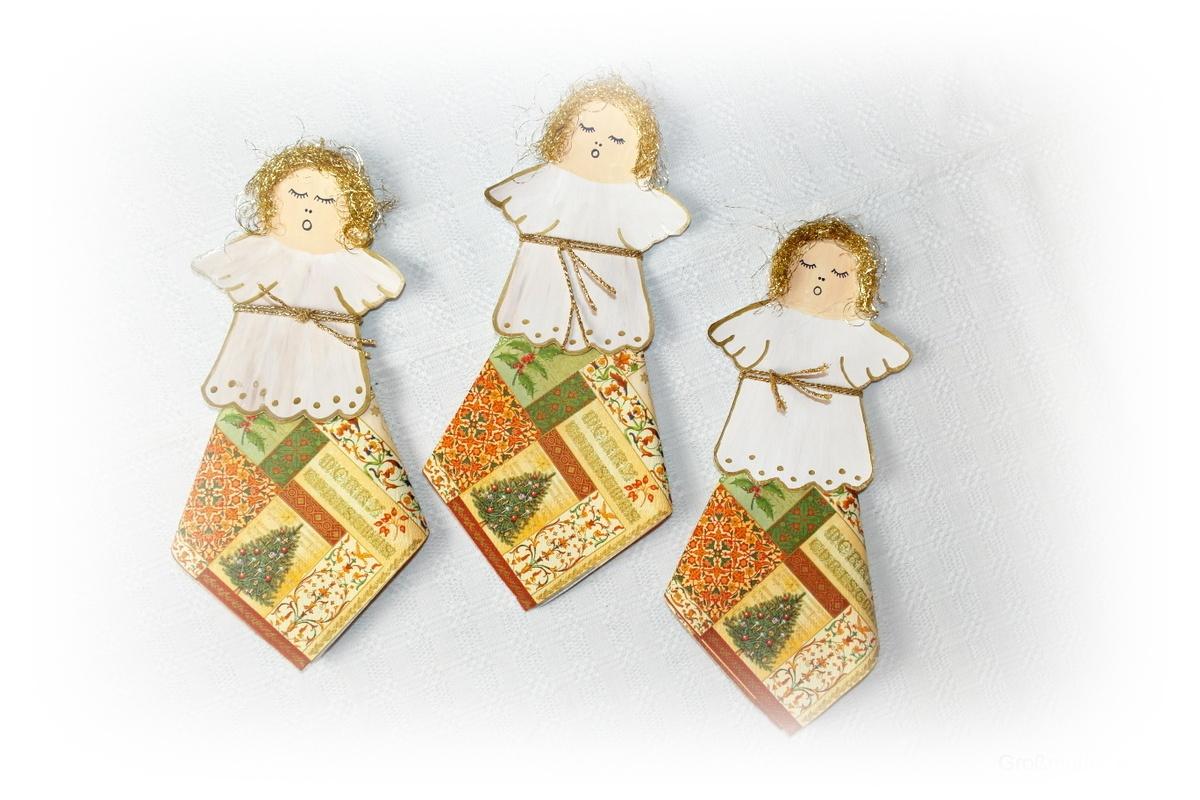 Diy weihnachtsengel basteln sch ne tischdekoration - Weihnachtsengel basteln ...