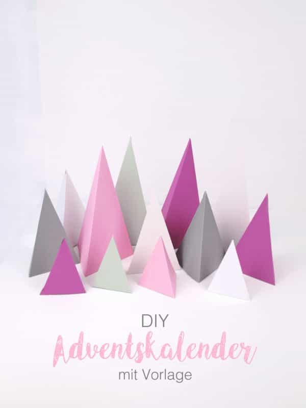 DIY Weihnachtswald Adventskalender und Tipps zum Befüllen