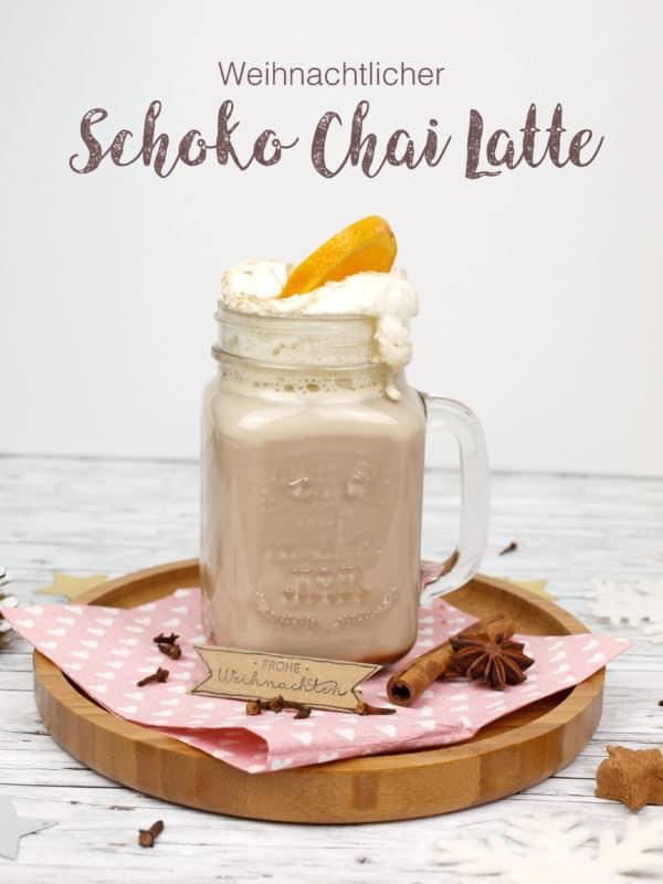 Weihnachtlicher Schoko Chai