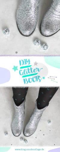 DIY GLITTER BOOTS SELBER MACHEN
