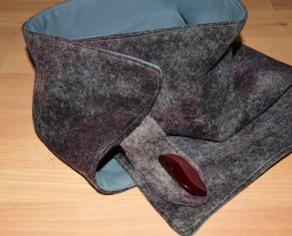 Ein Schal für kalte Tage