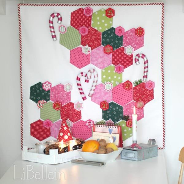 Hexagon Adventskalender