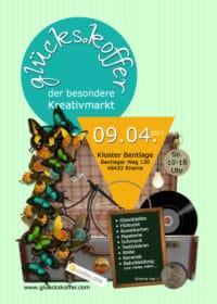 """""""glücks.koffer...der kreative Markt in besonderen Locations"""" - Rheine 09.04.2017"""