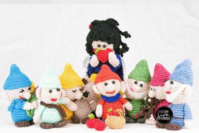 Hakelfiguren Schneewittchen Und Die 7 Zwerge Geschenke Bei