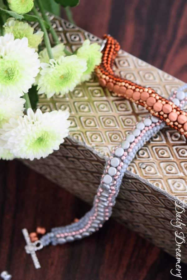 elegante Herringbone-Armbänder