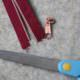 Täschchen mit Endlos-Reißverschluss nähen | Anleitung