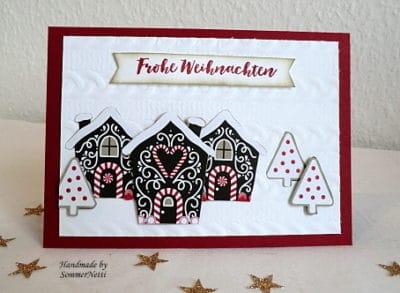 Karte Weihnachtsdorf