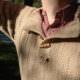 Lässiger Männerpullover aus Alpakagarn