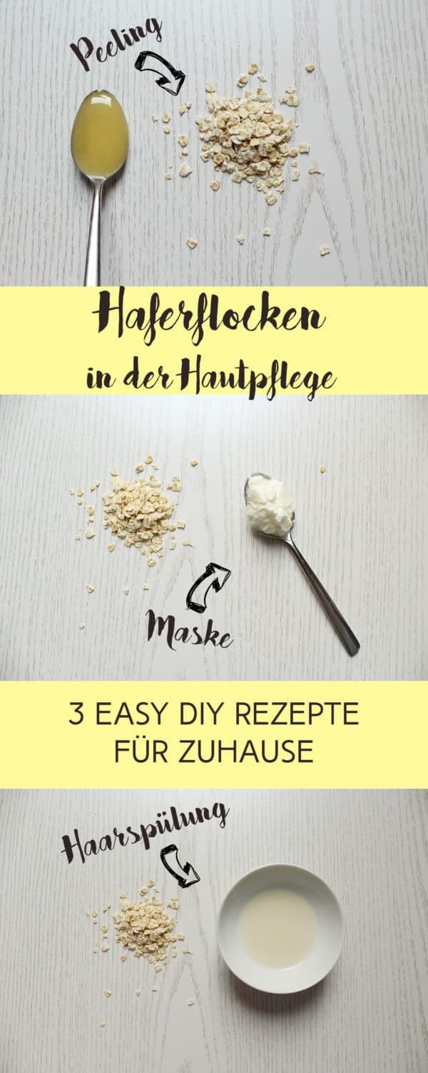 DIY-Beautyrezepte mit Haferflocken