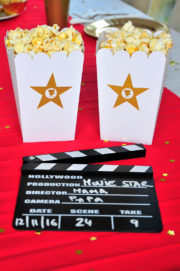 A star is born - DIY Hollywood Movie Night Party - inkl. Freebies