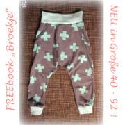 Babyhose/Kinderhose (mit Hosentaschen) NEU