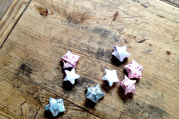 Sterne basteln